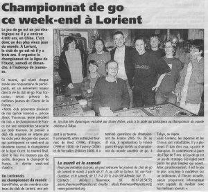 Championnat de go à Lorient